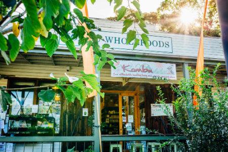 Kombu Wholefoods store front